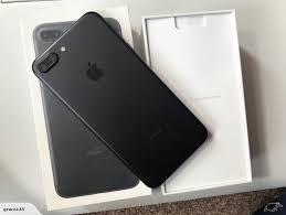 iPhone 7 Plus black 32GB unlocked brand new mint condition