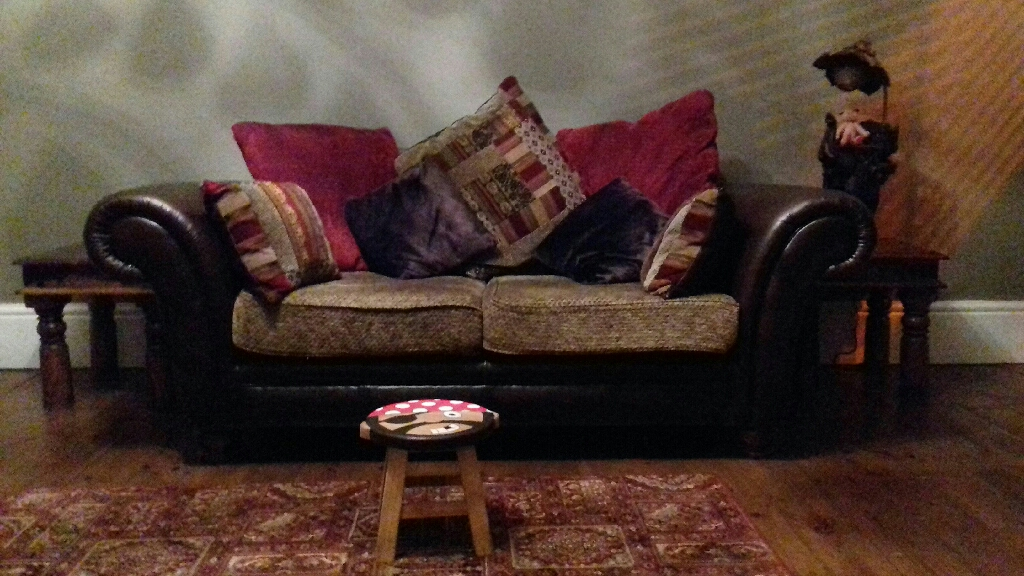 2 seater & 4 seater sofa's