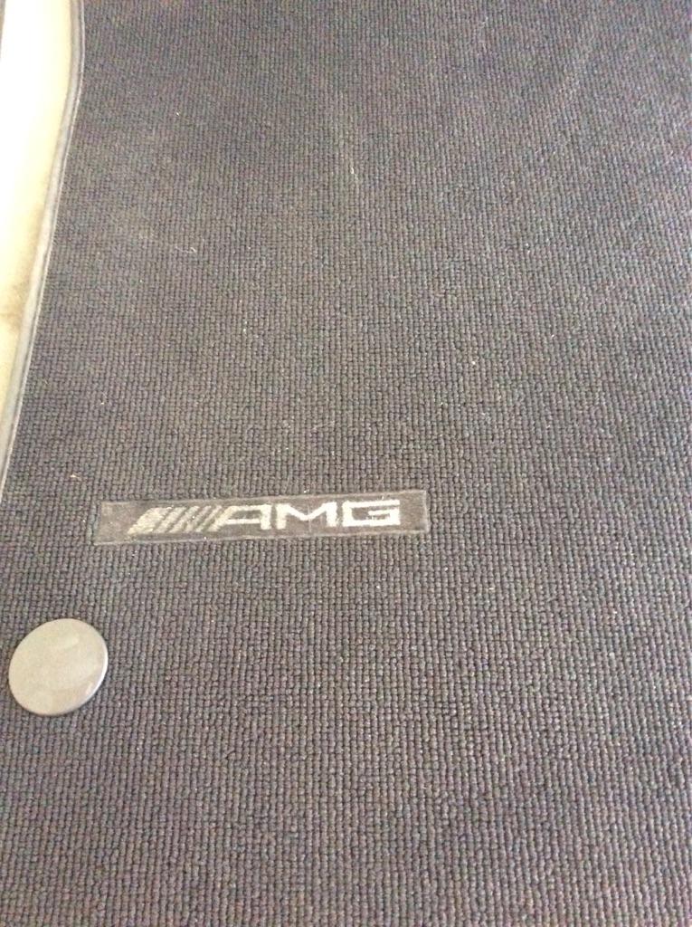 Genuine Mercedes Benz AGM car mats,set of 2,for SLK