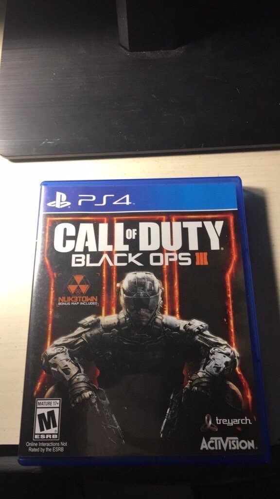 Call of Duty Black Ops 3 (PS4 edition)