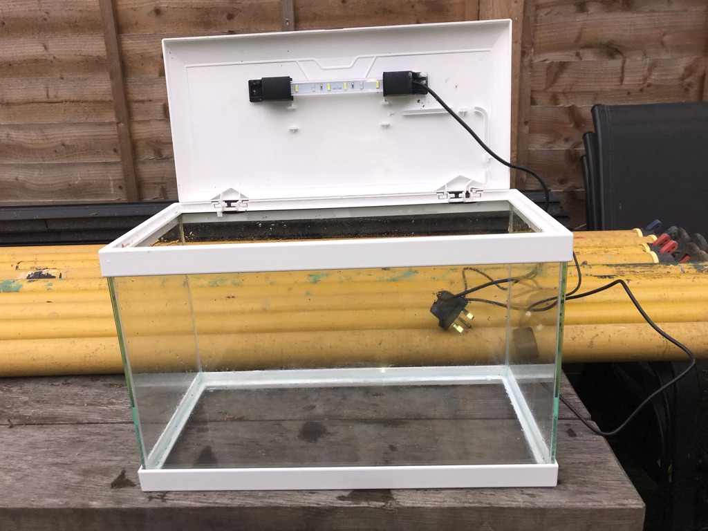 Ciano 17L Fish Tank - USED IN GREAT CONDITION
