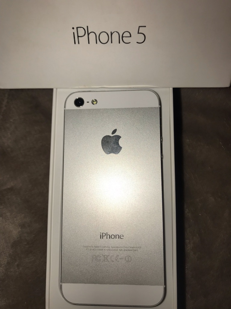 iPhone 5 White / Silver