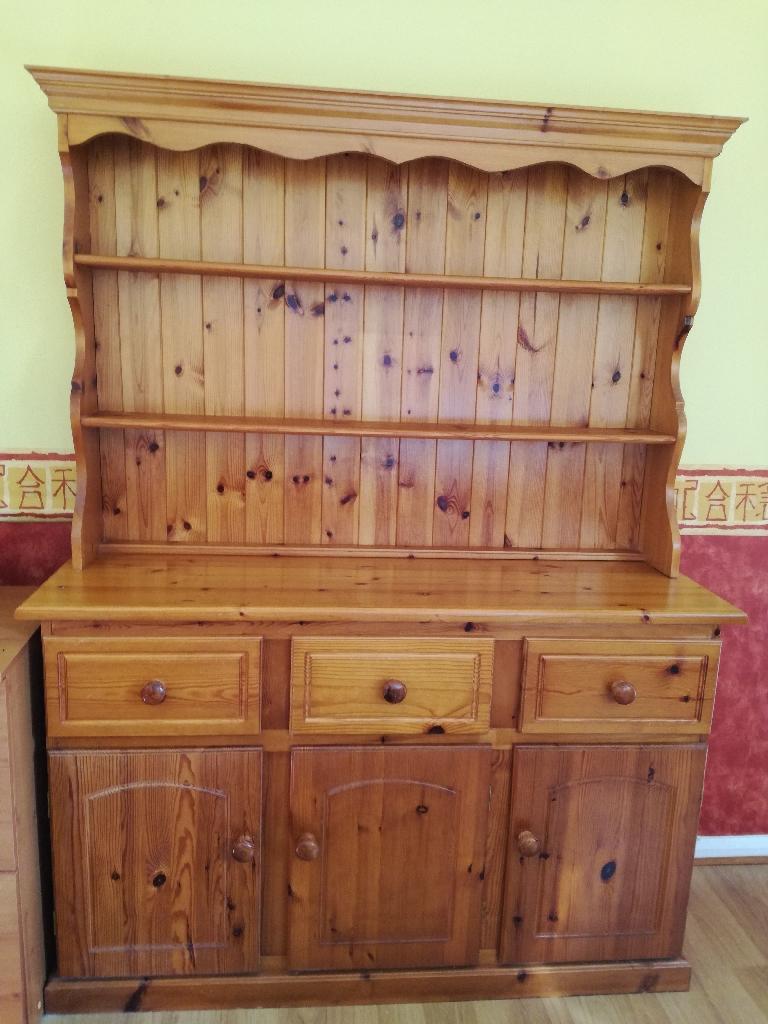 Solid Pine 3 Drawer Dresser