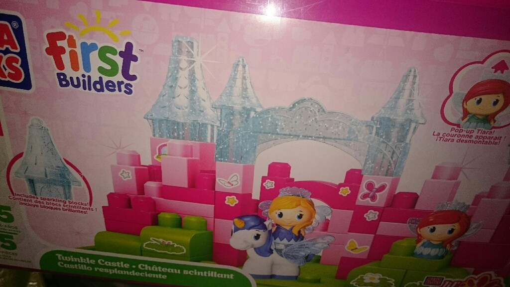 Megabloks princess castle