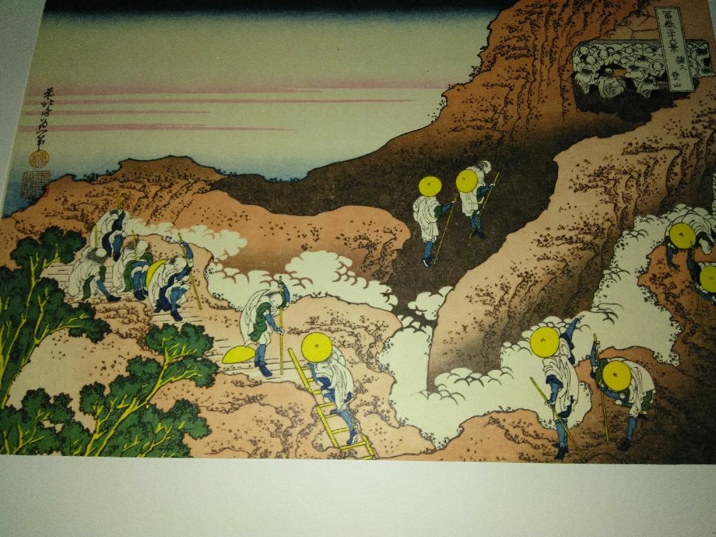 Mid century,prewar japanese block prints
