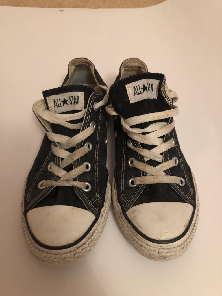 ALL STAR black converse