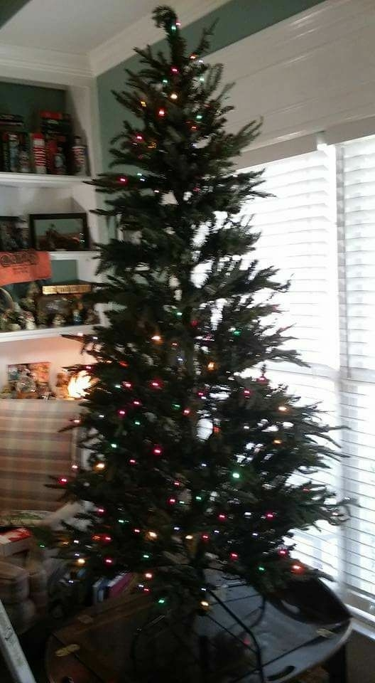 6 1/2 prelit Christmas tree