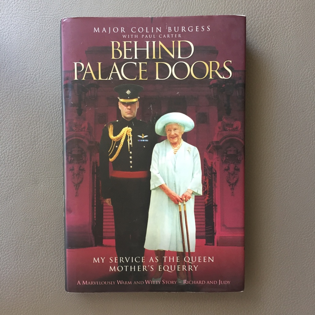 Behind Palace Doors, hardcover