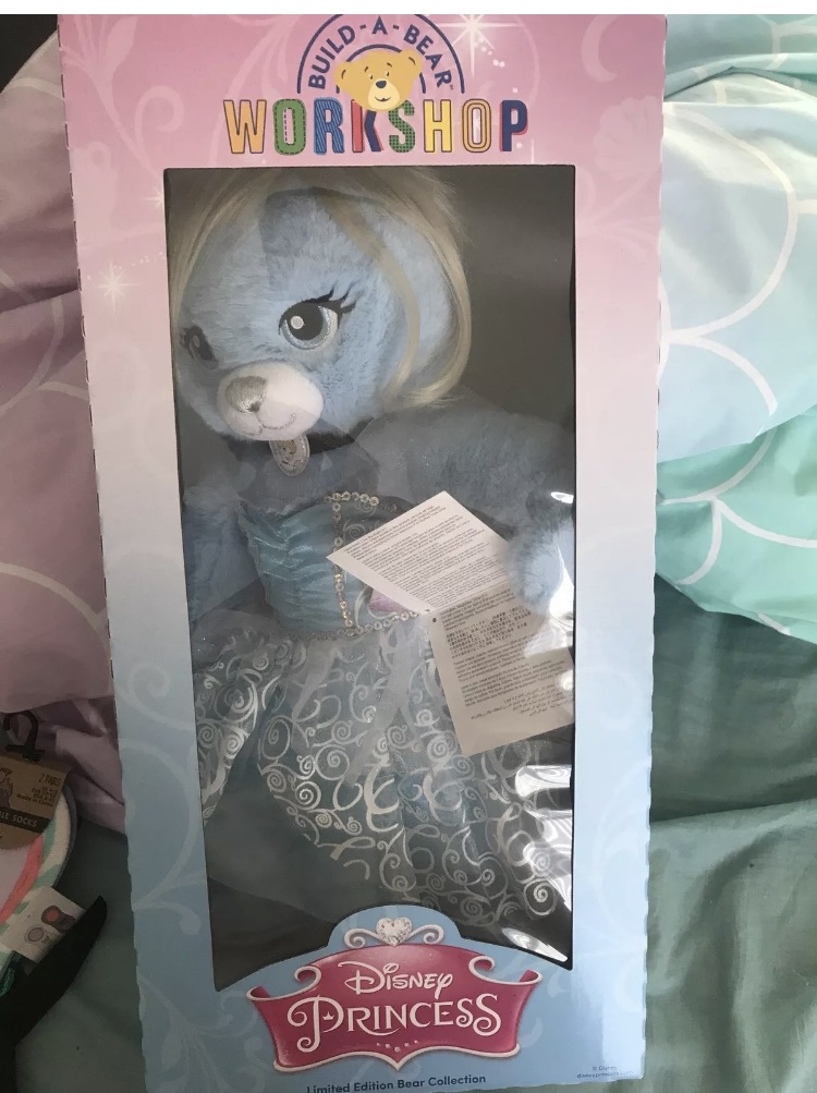 Cinderella Build a Bear disney