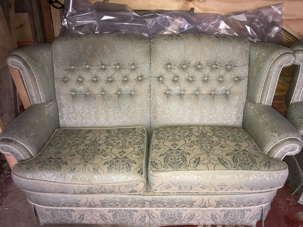 Vale Two seater and Armchair