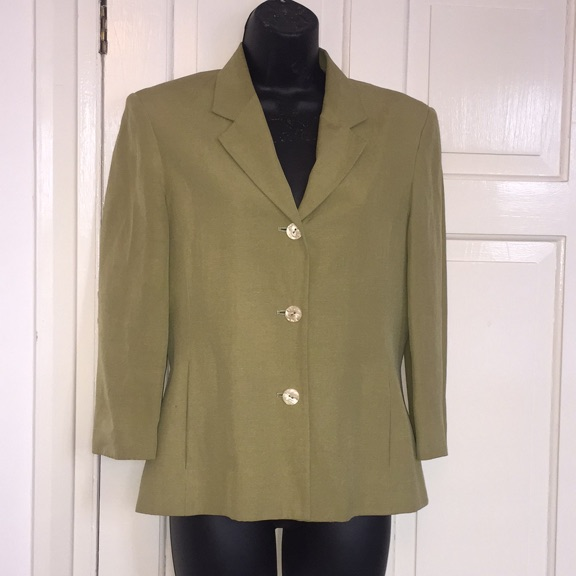 Beautiful silk/linen mix jacket