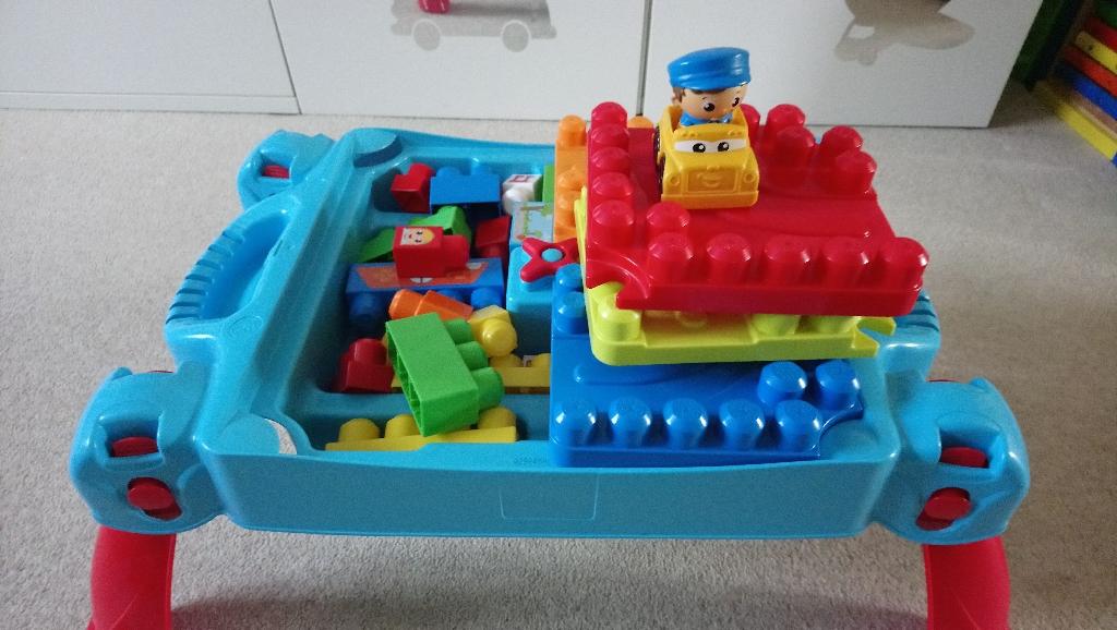 Mega blocks activity table