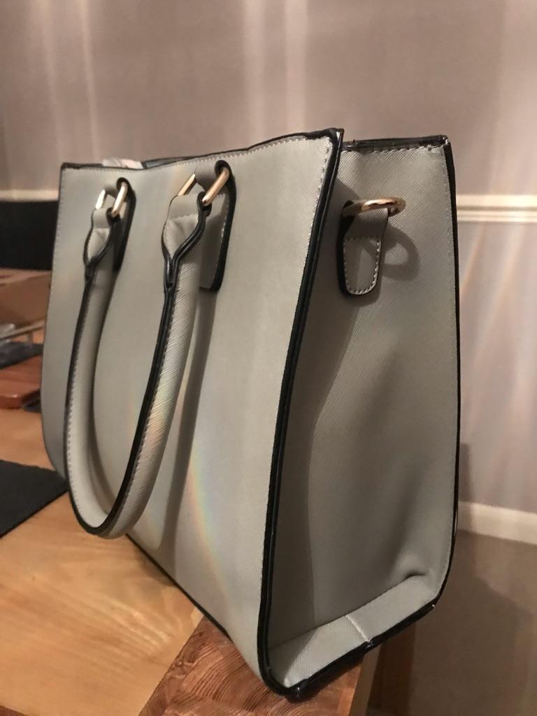 Brand new grey handbag