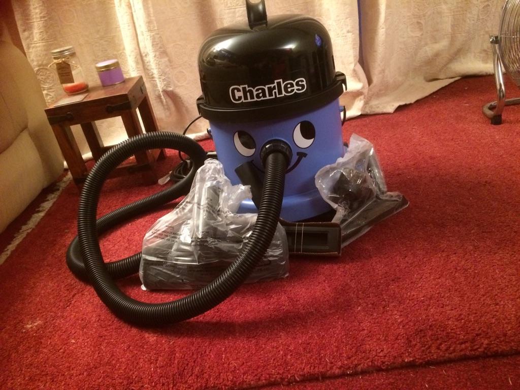Charles Wet & Dry Numatic Cleaner, Model CV 370-2