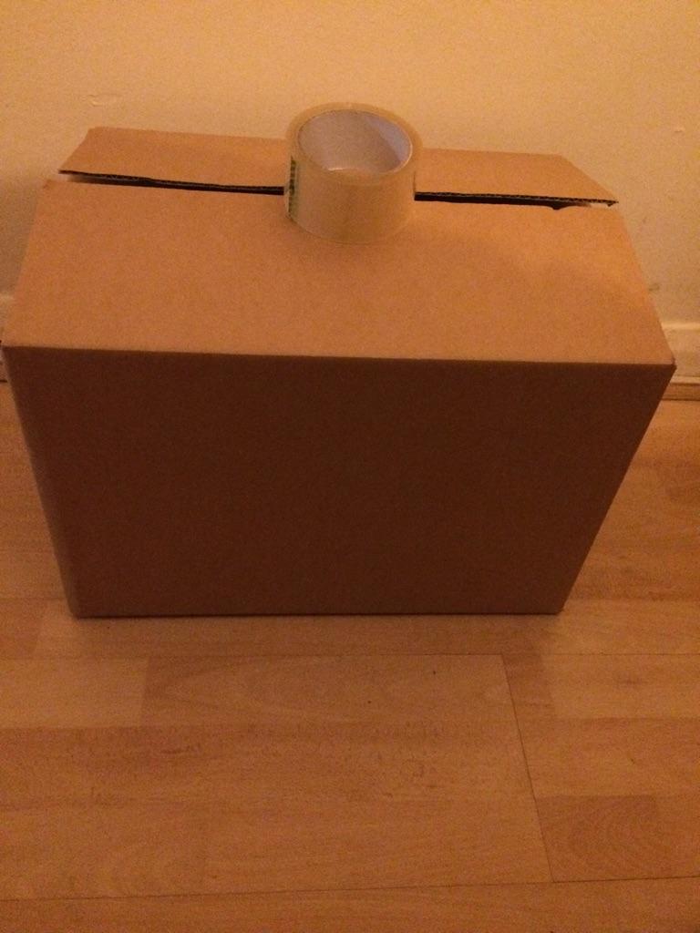 Cardboard Storage Moving Mailing Multi Purpose Boxes