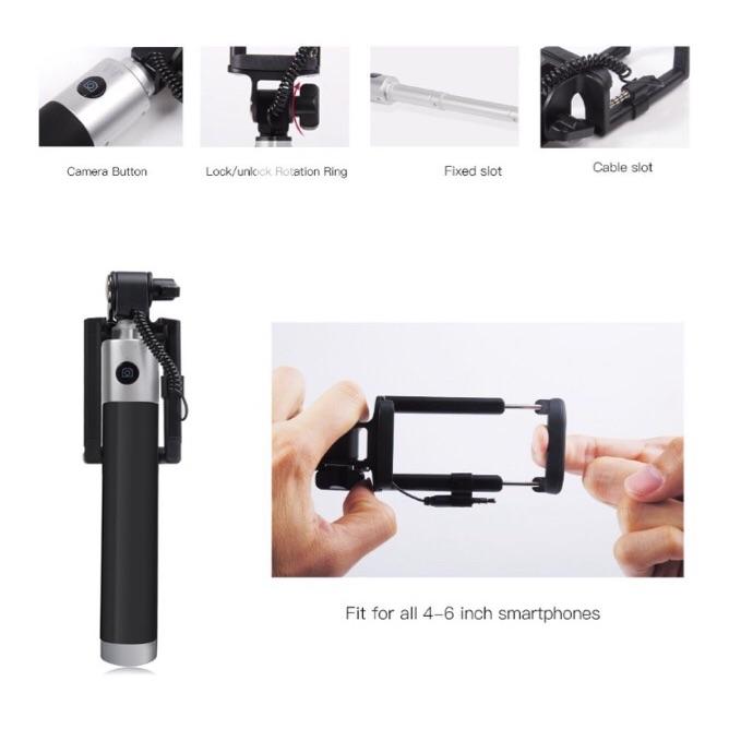 Wired Selfie Stick