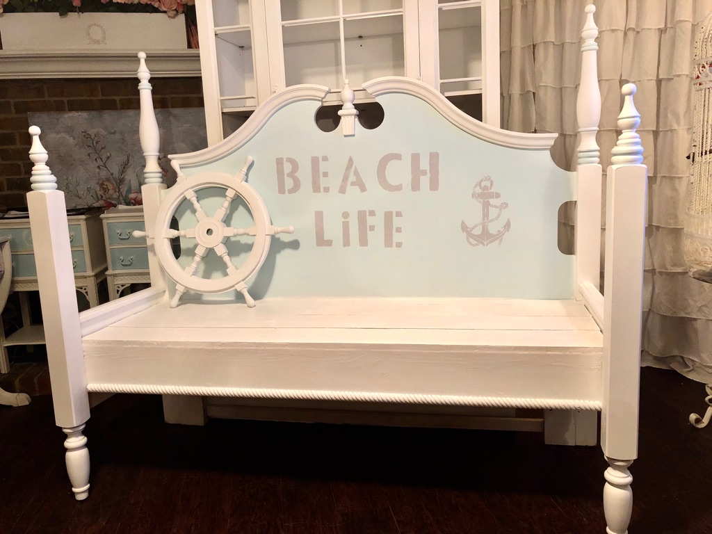 Gorgeous Beach 🏖 Style Bench