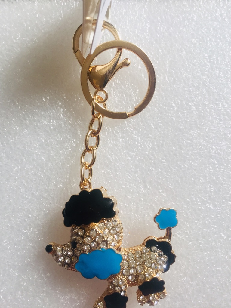 Keys ring holder with puppy ### 3