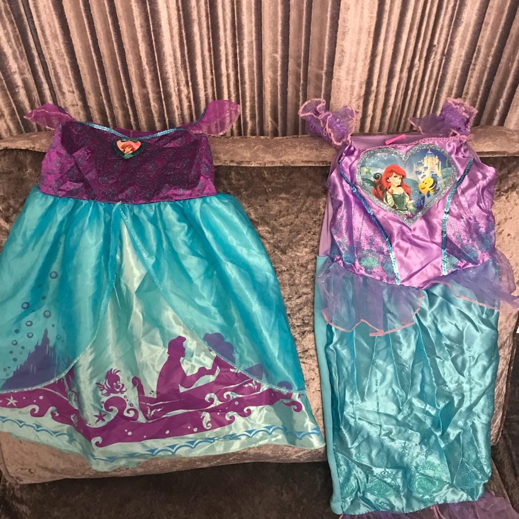 Ariel fancy dress costumes