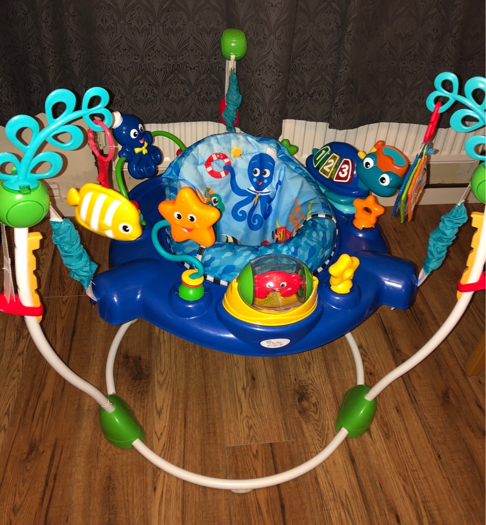Baby Einstein's Neptune ocean discovery jumper excellent condition jumperoo bouncer