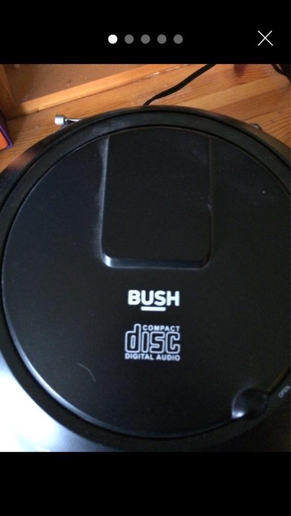 Bush CD boombox