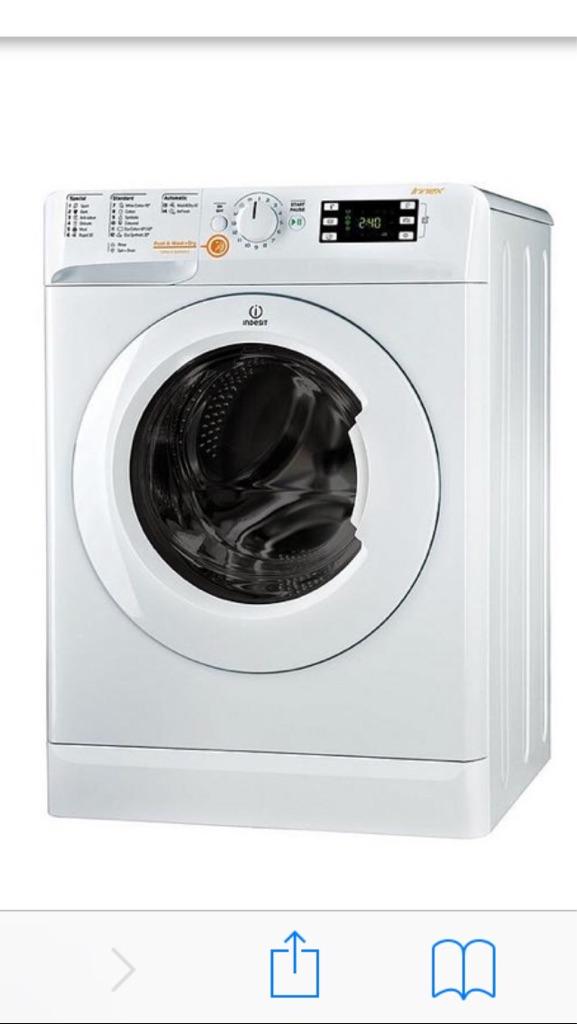INDESIT INNEX washer/dryer 7kg wash 5kg dry 1400 spin
