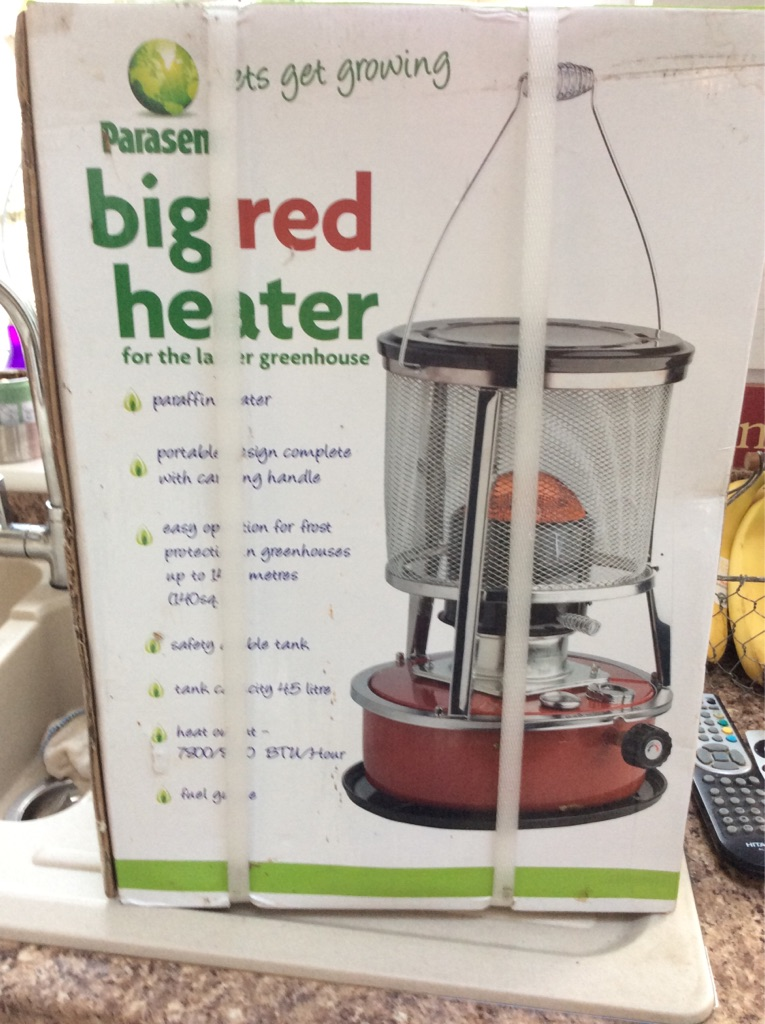 Big red paragon heater