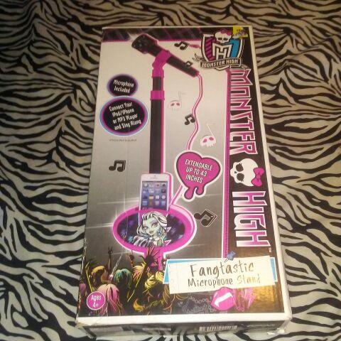 Monster high microphone set