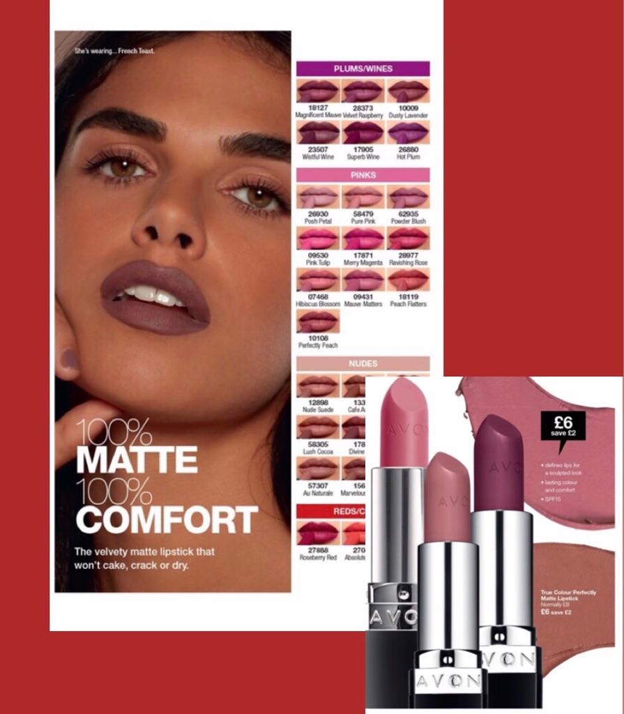 True matte lipstick