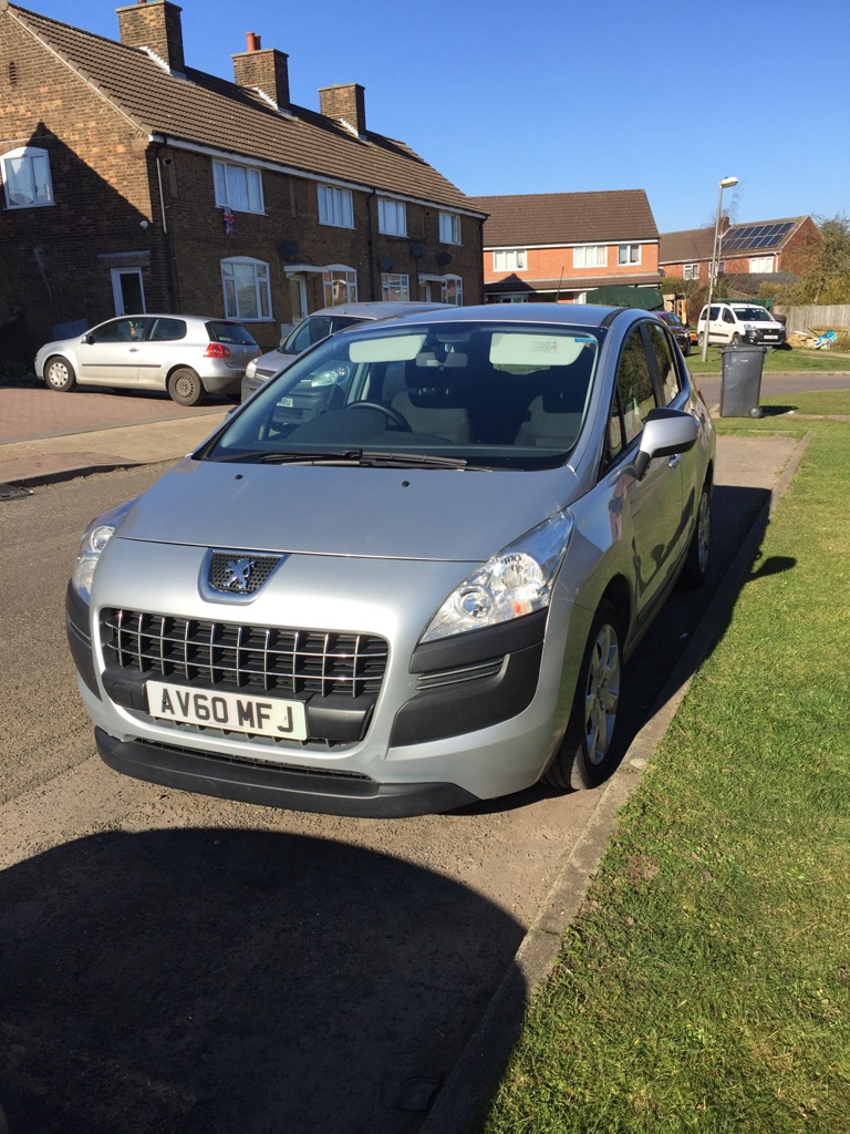 Peugeot 3008 reduced to sell