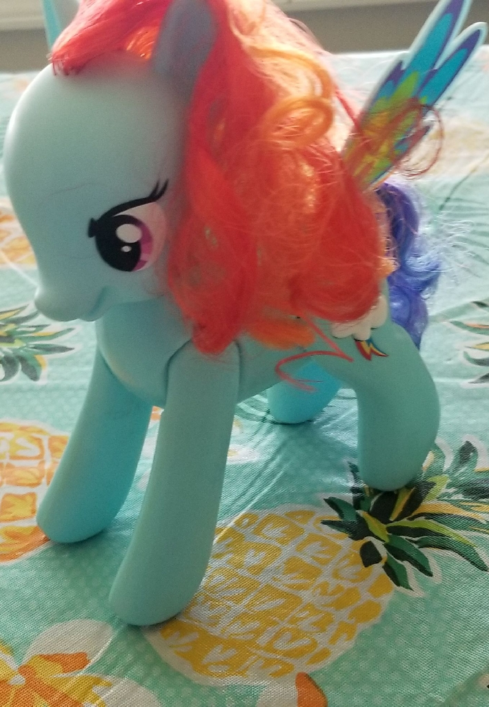 Rainbow Dash flip