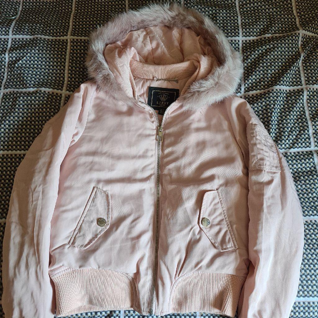 Lipsy Bomber Jacket (Baby  Pink)