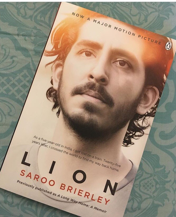 Lion by Saroo brierley true story book