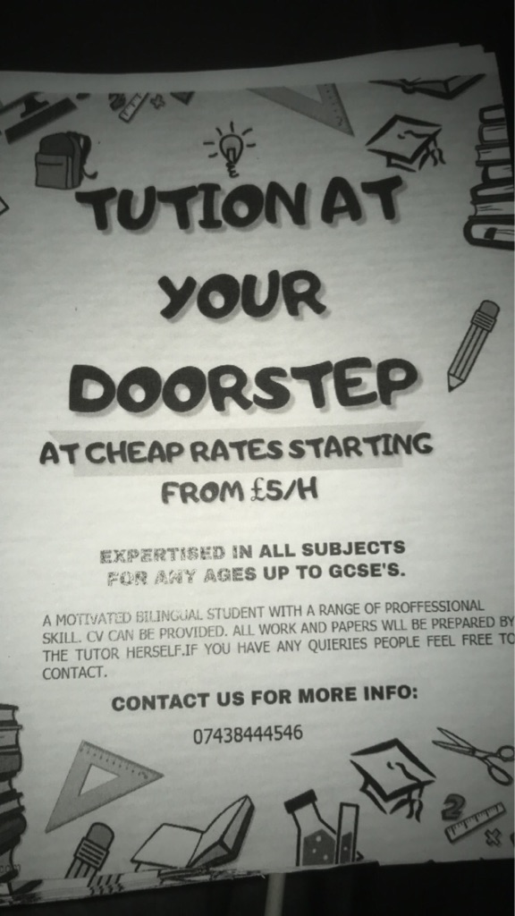 Tution at your doorstep