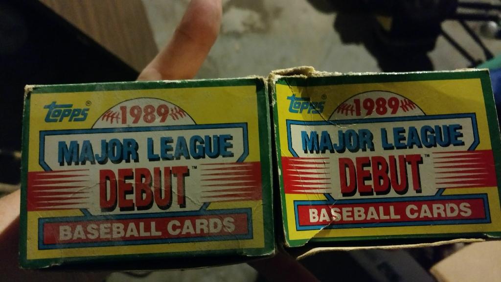 Old baseball cards