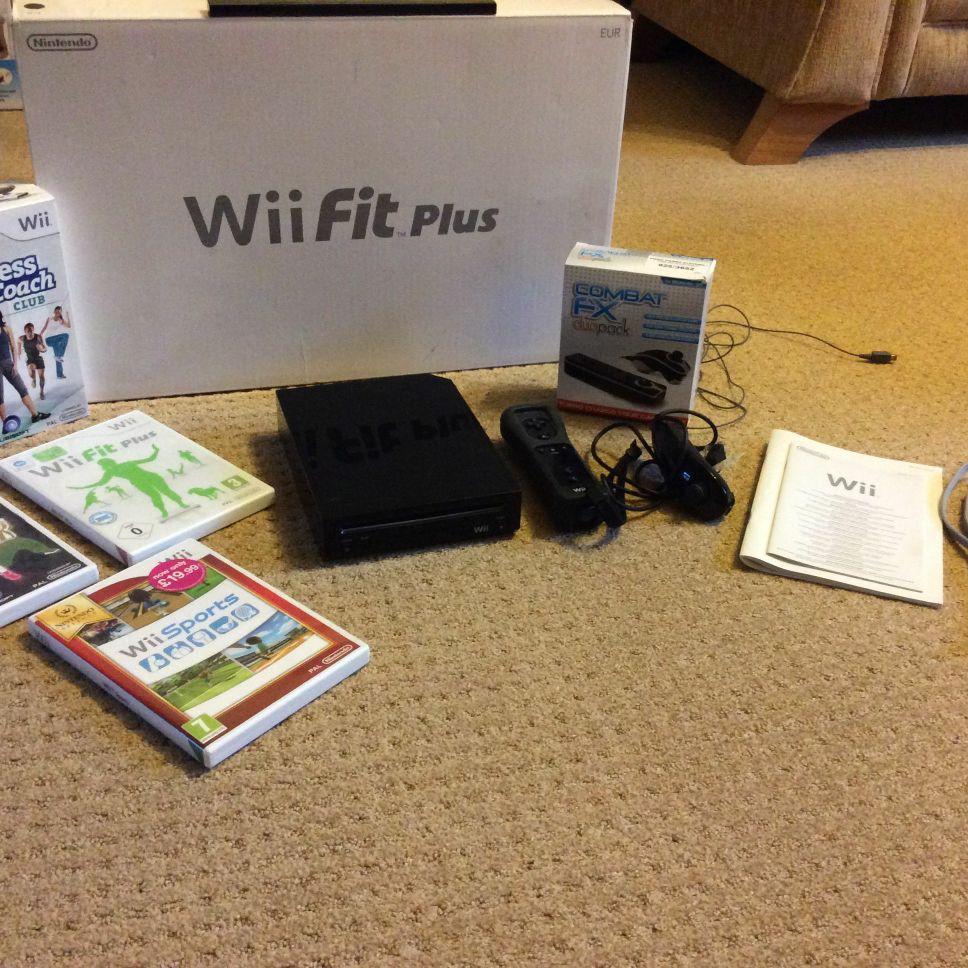 Wii Fit Console Bundle