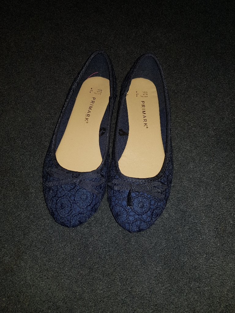 Blue dolly shoes/pumps
