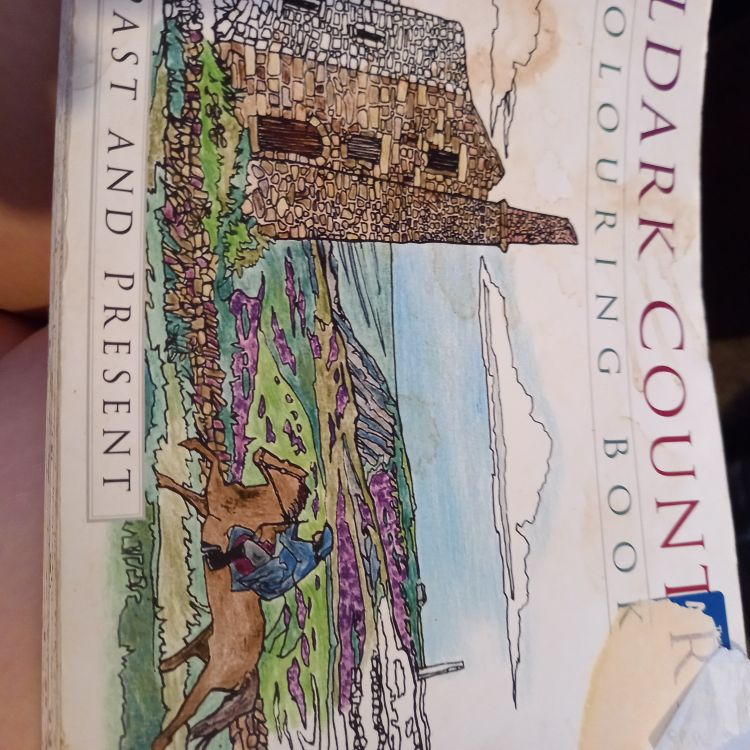 Pollards country coloring book