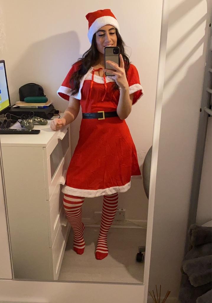 Women's Santa costume