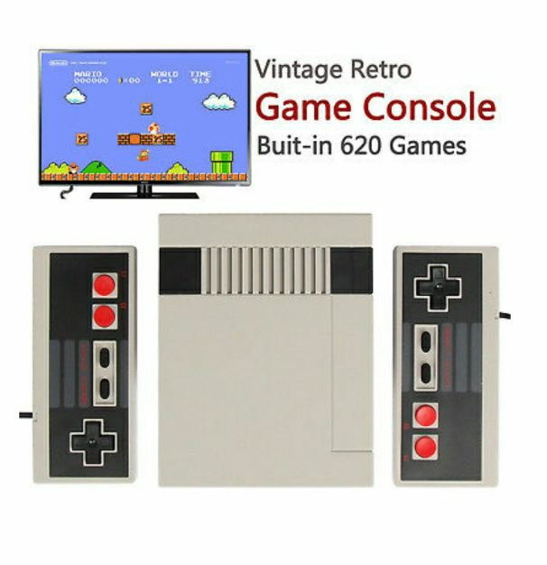 620 built-in 8 bit Mini Games Console