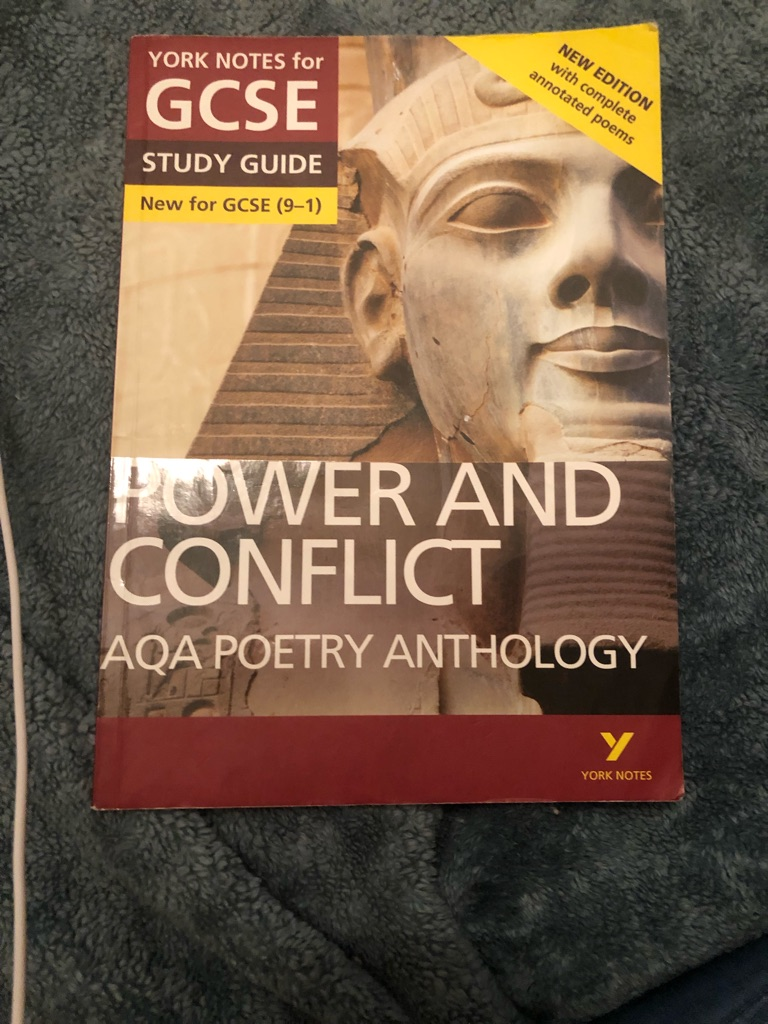 AQA GCSE power&conflict study guide used