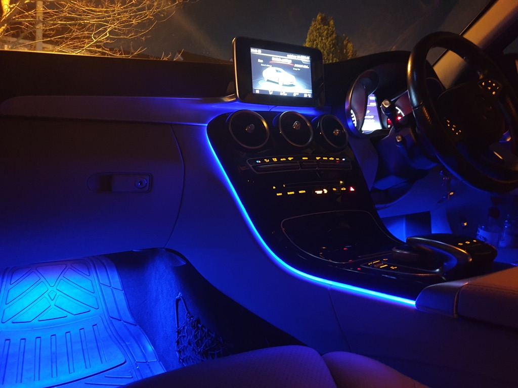 LED Footwell Lights Fitted 16 Million Colours