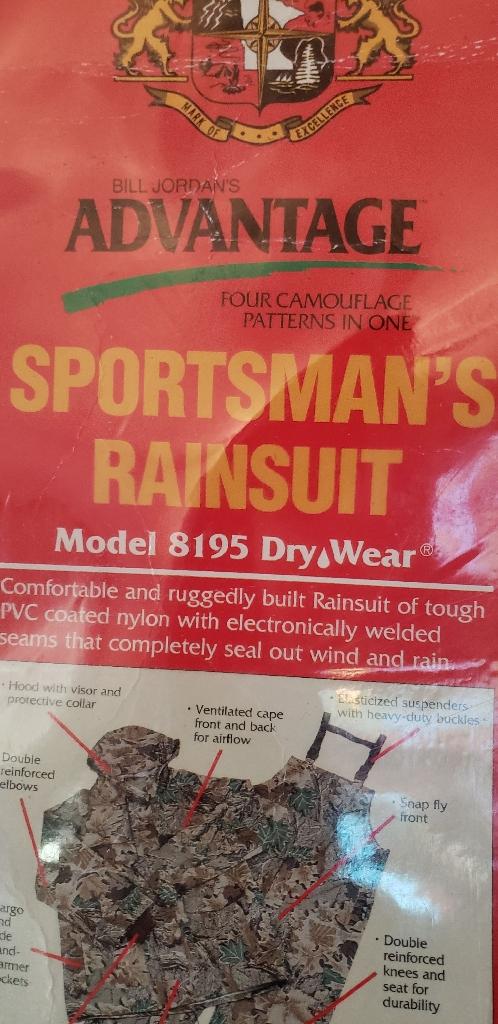 Sportsman Rain Gear