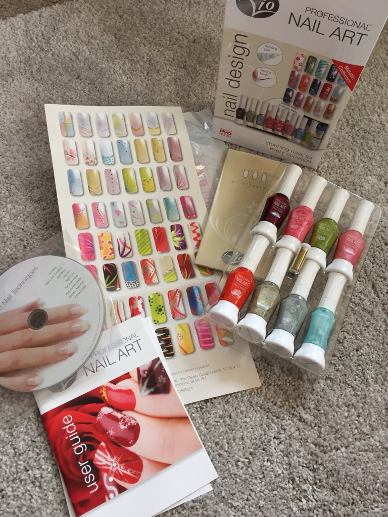 Professional Nail Art Kit
