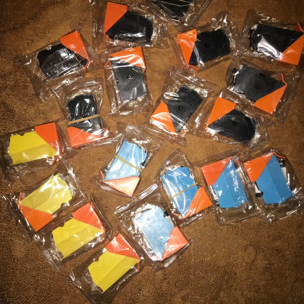 19 Jet Tec Ink Jet Cartridges CL8