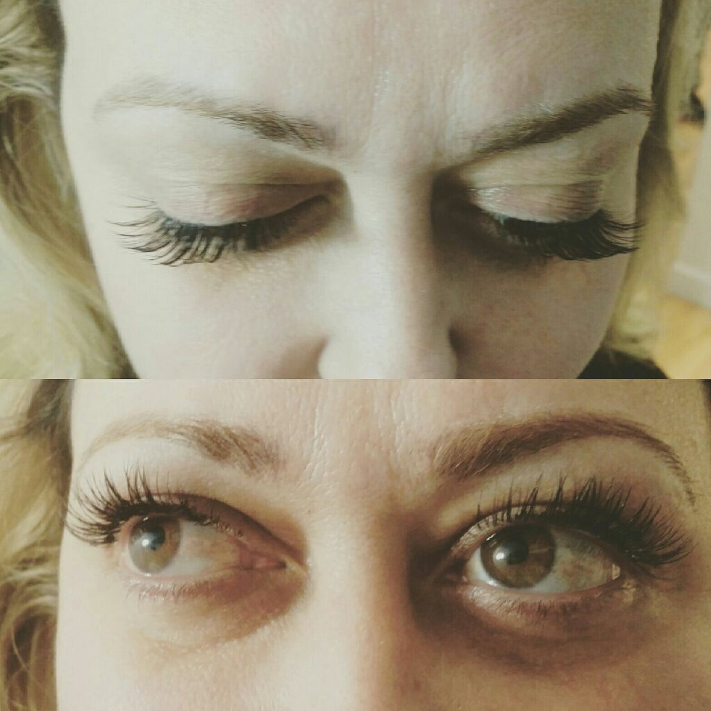 Dramatic lashes extention