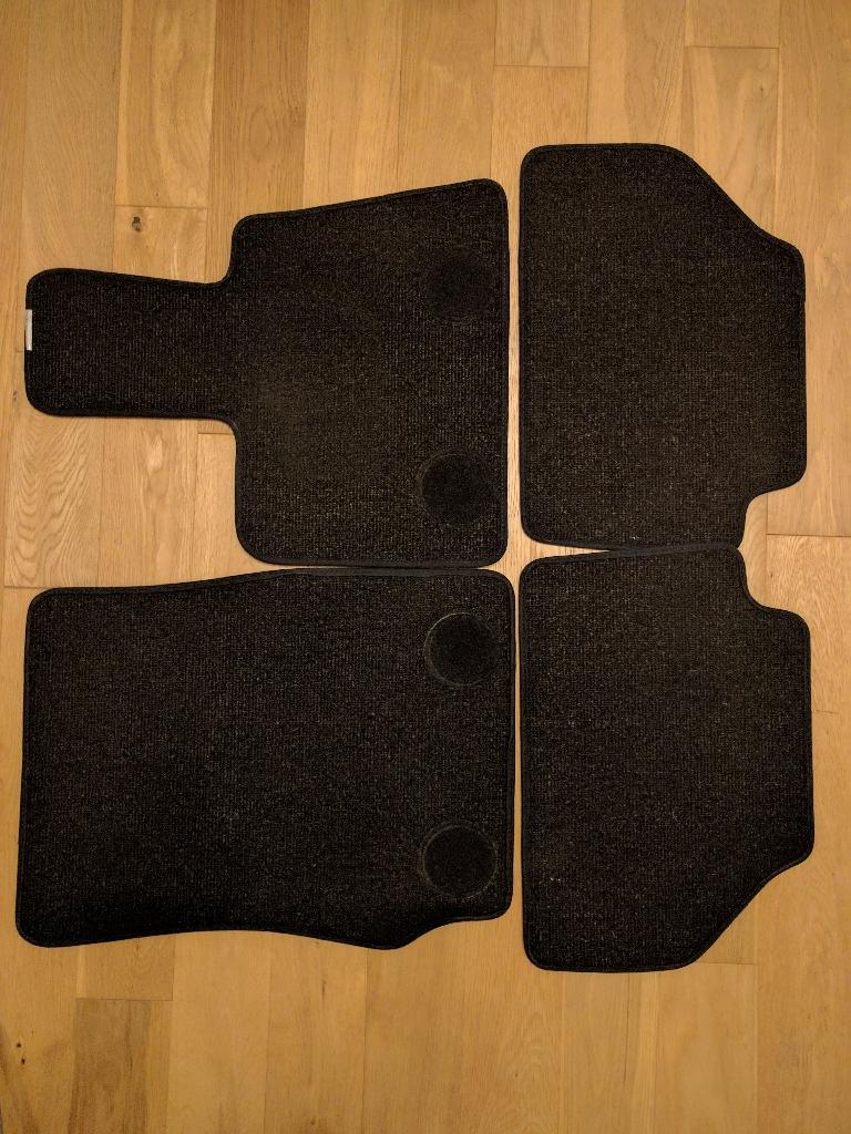 BMW X3 genuine car mats