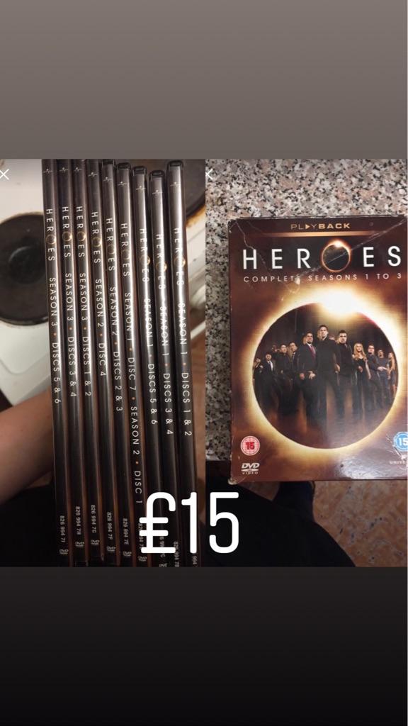 DVDs boxsets