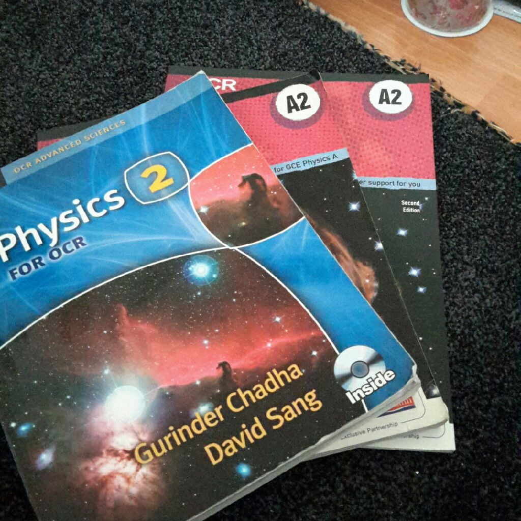 3 Physics Books for A2