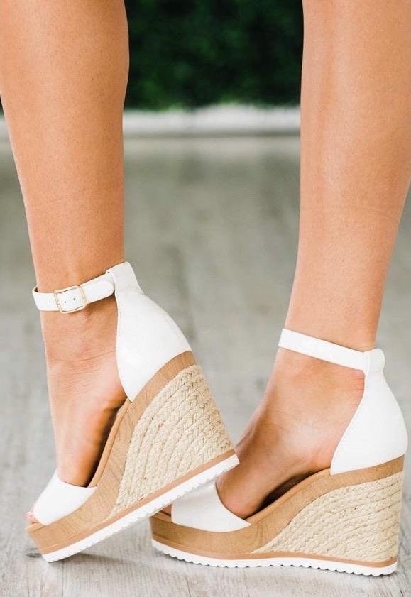 Wedge sandals 20% off using my code below